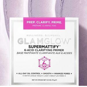 NEW! GLAMGLOW Supermattify Clarifying Primer